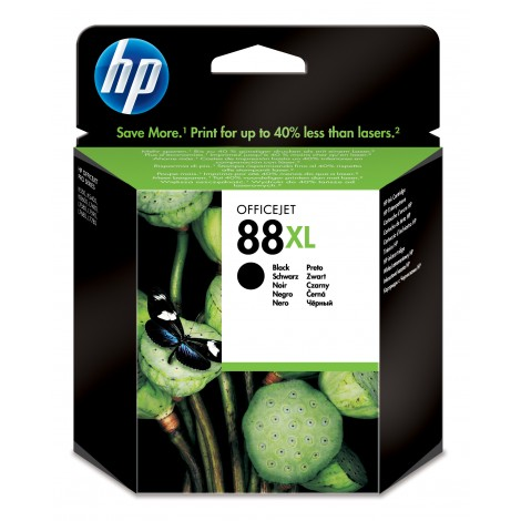 HP C9396A Inkpatroon (88XL) Black