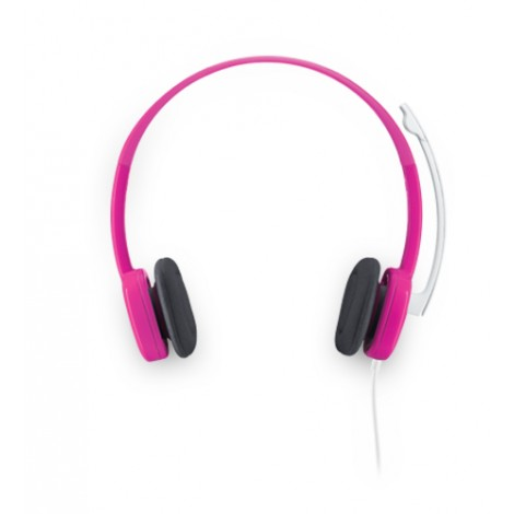 Logitech Stereo Headset H150 Cranberry