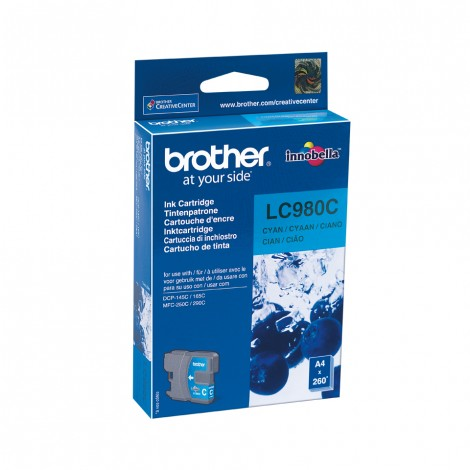 Brother LC-980C inktcartridge