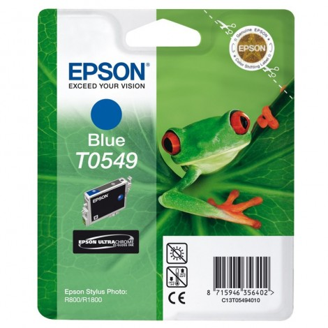 Epson T0549 Inkpatroon (Blue)