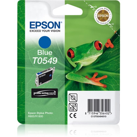 Epson inktpatroon Blue T0549 Ultra Chrome Hi-Gloss
