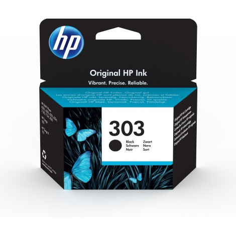 HP T6N02AE (303) Black Cartridge