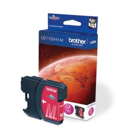 Brother LC-1100HYM Magenta inktcartridge (High Yield)