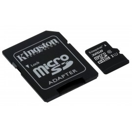 Kingston 32GB Micro SDXC met Adapter