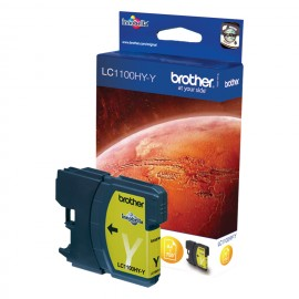 Brother LC-1100HYY Yellow inktcartridge (High Yield)