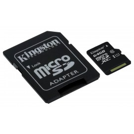 Kingston 64GB Micro SDXC met Adapter