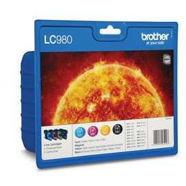 Brother LC-980VALBP Multipack