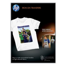 HP C6050A Iron-On T-Shirt Transfer Paper A4 170gr 12 Vel