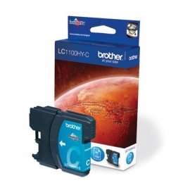 Brother LC-1100HYC Cyan inktcartridge (High Yield)