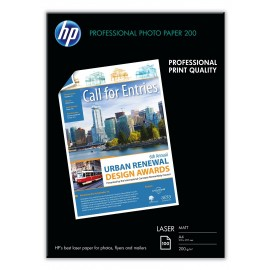 HP Q6550A A4 Premium Laser Photo Paper 200gr (100 vel)