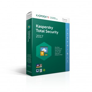 Kaspersky Total Security 2017 NL 3-User Multi-Device
