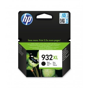 HP CN053A Inkpatroon (932XL) Zwart