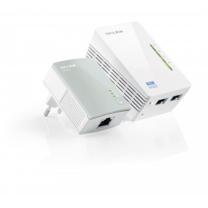 TP-Link TL-WPA4220KIT AV500 Wifi Powerline Extender Kit (500Mbit)