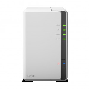 Synology Disk Station DS220J (2 Bay) 1.4ghz 512MB