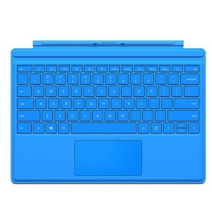 Microsoft Surface Pro 4 Type Cover Felblauw