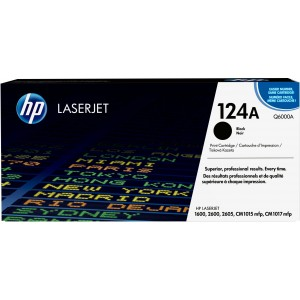 HP Q6000A Toner Black voor HP Laserjet 2600-series