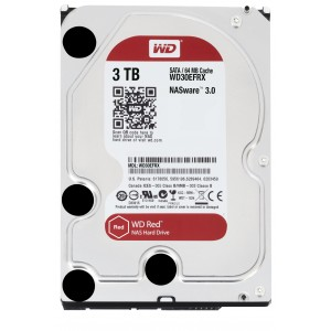 Western Digital WD30EFRX 3 TB RED 3.5 SATA600 64MB NAS-Versie
