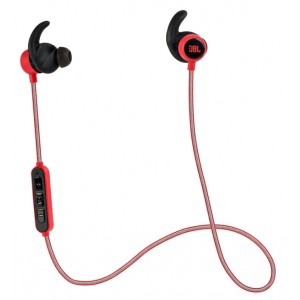 JBL Reflect Mini BT Headset Neckband Zwart, Rood