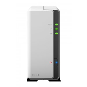 Synology Disk Station DS115j (1 Bay) 800mhz 256MB