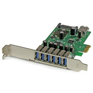 StarTech PEXUSB3S7 7-Poorts USB3.0 PCI-Express Card