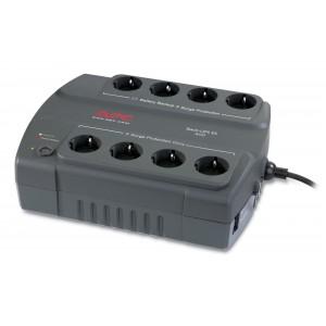 APC BE400 Back-UPS ES 400VA + 8-Poorts Stekkerdoos