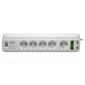 APC PM5U-GR SurgeArrest Protector 5-Way + USB