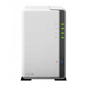 Synology Disk Station DS216J (2 Bay) 1.0ghz 512MB