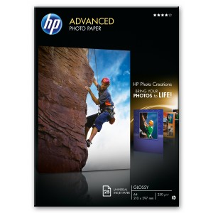 HP Q5456A A4 Glossy Photo Paper 250gr (25 vel)