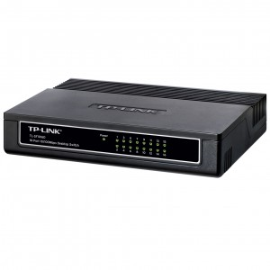 TP-Link TL-SF1016D 16-Poorts 10/100 Mbit Netwerkswitch