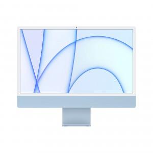 Apple iMac 24 (M1/8GB/256GB/M1 8-core GPU/OS X) 4.5K Blauw
