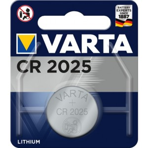 Varta CR 2025 Primary Lithium Button Wegwerpbatterij CR2025