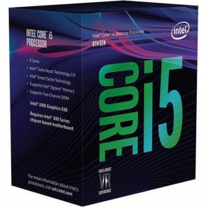 Intel Core i5-8600K (3.6ghz) S1151 9MB (6 Cores)
