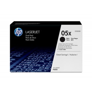 HP CE505XD Tonercartridge (05A) Duo-Pack
