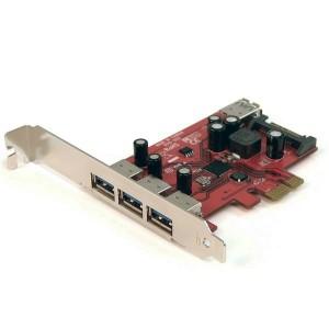 StarTech PEXUSB3S4 4-Poorts USB3.0 PCI-Express Card