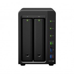 Synology Disk Station DS716+ (2 Bay) Cel. N3150 2GB