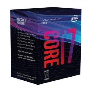 Intel Core i7-8700 (3.2ghz) S1151 12MB (6 Cores)