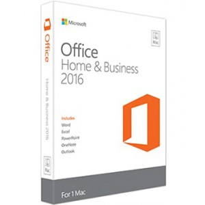 Microsoft Office 2016 Home and Business NL MAC (1-User)